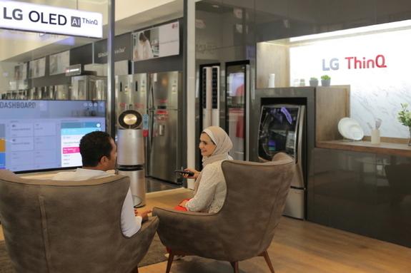 LG전자, 성장 잠재력 큰 중동·아프리카에 인공지능 'LG ThinQ' 알린다