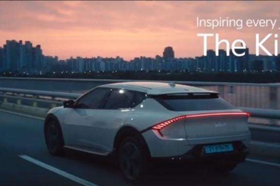 [영상]기아, 전기차 EV 시리즈 첫 모델 'The Kia EV6' 눈길