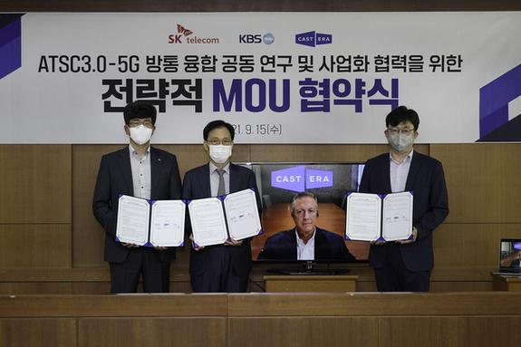 SKT, KBS-캐스트닷에라와 손잡고 방송 송출 플랫폼 혁신한다