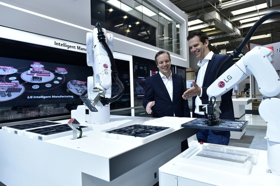 LG전자-한국로봇산업진흥원, 산업용 자율주행로봇 안전성 높인다